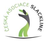 Česká asociace slackline, z.s. logo